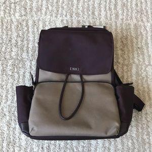 Tumi Purple Cady Backpack
